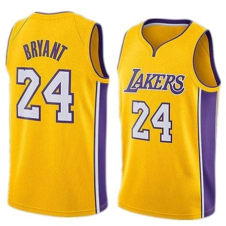 FMSport Jerseys De Baloncesto para Hombre - NBA Lakers # 24 Bryant ...