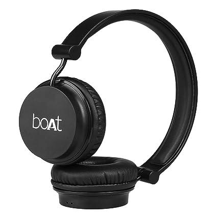 bcb4e1e9905 Boat Rockerz 400 On-Ear Bluetooth Headphones: Amazon.in: Electronics