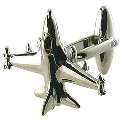 Select Gifts Cuff Links Fighter gemelos~caza F16~aviones cuadro personalizado grabado: Amazon.es: Ropa y accesorios