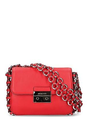 c80574b8d9d Michael Kors Damen Damen Trage Tasche echt Leder: Amazon.de: Bekleidung