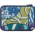 Stitch & Zip Coin / Credit Card Case Needlepoint Kit - SZ216 Imari Abstract