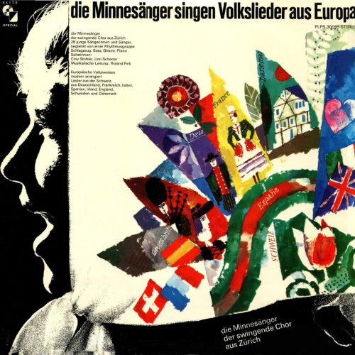 Die Minnesänger singen Volkslieder aus Europa