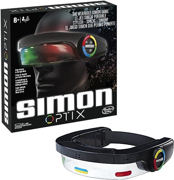 Hasbro Gaming Juegos Simon Optix, Multicolor, 27 x 27 cm (C1959EU4): Amazon.es: Juguetes y juegos