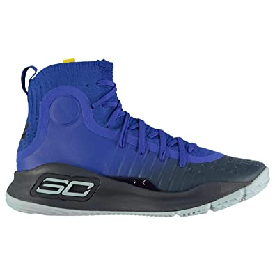 e005111c1586 Under Armour Curry 4 Basketball Shoes - 8 - Blue