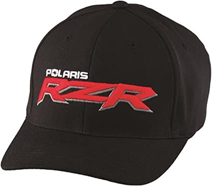Polaris nuevo OEM Hombres de negro y rojo RZR Logo – Gorra de ...
