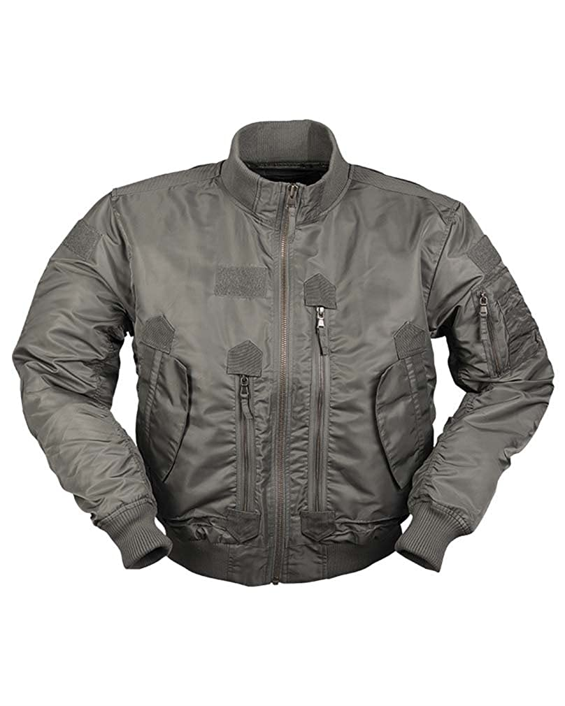 eba822686e2 Amazon.com  Mil-Tec US Style Tactical Flight Jacket  Clothing