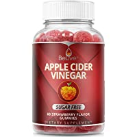 Apple Cider Vinegar Gummies - Sugar Free, Healthy Alternative with Erythritol, Melt Protection - Bloating Relief & Digestion Health for Women, Men, and Kids | 60 Gummy