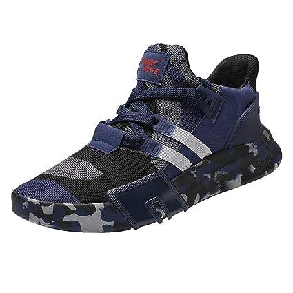 01d3b34f7597 Amazon.com: Hunzed Men【Breathable Running Shoes】Clearance Men's ...