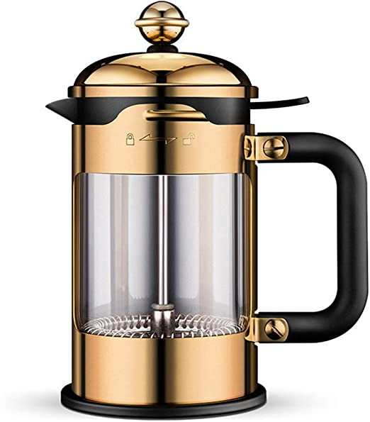 304 French Press Coffee Maker La Mejor cafetera de Doble Pared de ...