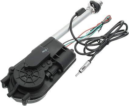 CALALEIE Antena retráctil universal automática de 12V FM AM ...