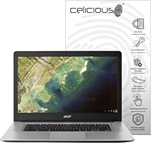 Celicious Matte Anti-Glare Screen Protector Film Compatible with Acer Chromebook 15 CB515-1HT [Pack of 2]