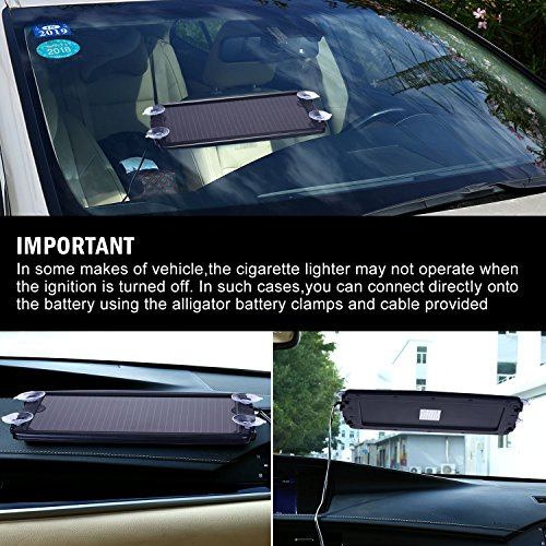 Solar Battery Charger Car 2 4w 12v Solar Trickle Charger For Car