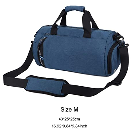 fe52c8116845 Amazon.com: CLHFJ Gym Bags Yoga Mat Bags Men Women Sports Fitness ...