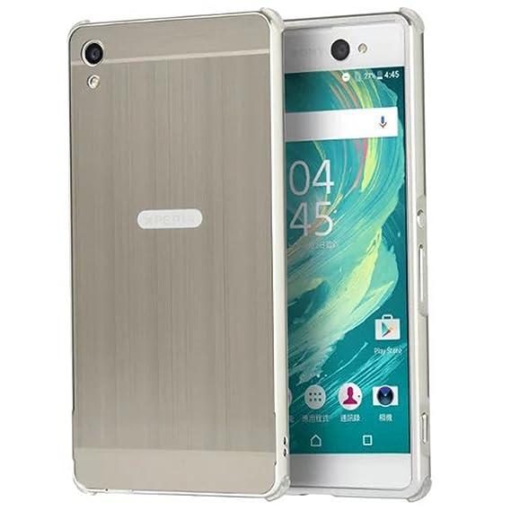 uk availability 64e0c 0f280 Amazon.com: Sony Xperia XA Ultra Case, Ranyi [Brushed Metal Series ...