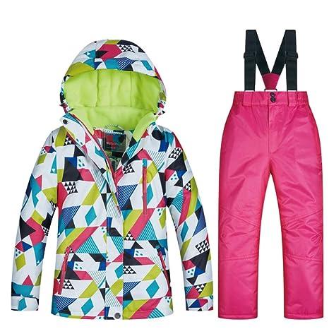 X-xyA Los Niños De Esquí Traje, 2-Piece Chaqueta Y Pantalones ...