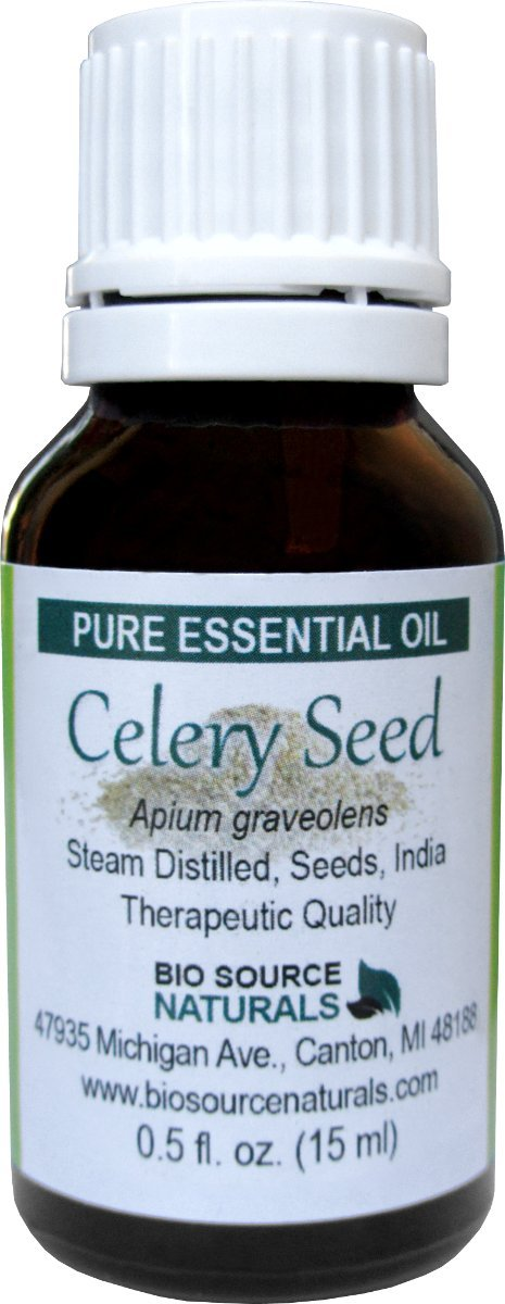 Celery Seed (Apium graveolens) Pure Essential Oil 1 fl oz / 30 ml - Therapeutic Quality - with COA - Aromatherapy
