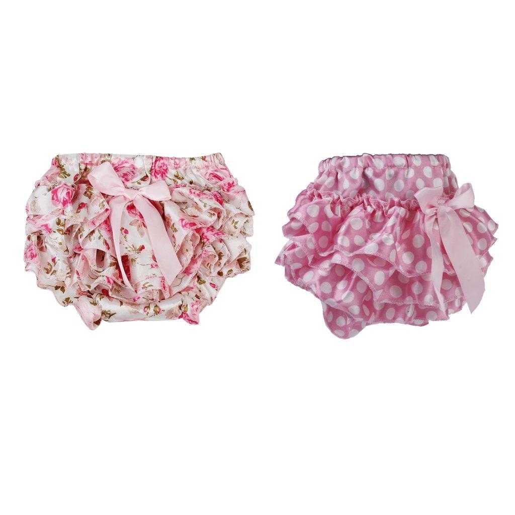 IPOTCH 2x Falda Floral con Volantes Pañal de Bebé Accesorio de Regalo de Mesa Comedor Viaje