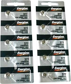 Maxell Battery BAT-M377 Energizer #377 Pack Of 5
