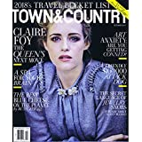 TOWN & COUNTRY October 2017 小さい表紙画像