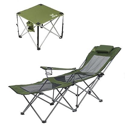 ZGL Reclinables Paquete de silla de salón plegable al aire ...