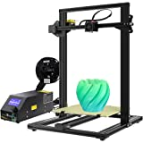 Foxnovo Creality CR-10 3D Printer Fully Assembled DIY Kit, Aluminium, Large Print Size 300X300X400mm with heated bed