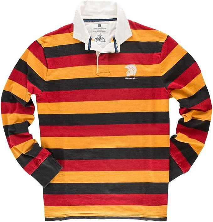 Black & Blue 1871 - Polo de Rugby de Manga Larga Modelo Mohicans ...
