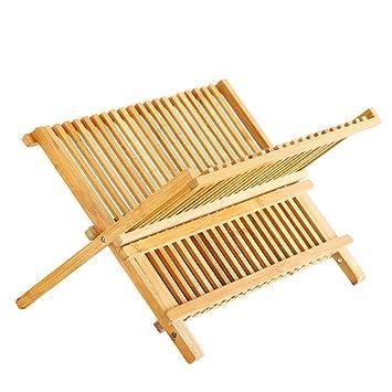 Bambus Geschirrkorb Home Kitchen Holz Standard Zwei Geschirrkorb