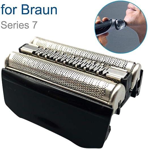 Knowled Cabezales de Repuesto para afeitadoras eléctricas, para Braun 7 Serie 760CC 760CC-3 765CC 765CC-3 760CC-4 760CC-5 760CC-6 760CC-7, Cuchilla de Repuesto: Amazon.es: Hogar