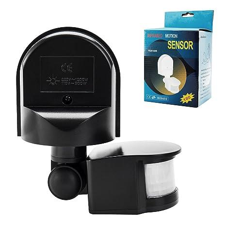 Sensor de movimiento por infrarrojos Detector Interruptor exterior