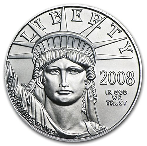 2008 Platinum American Coins $5 Brilliant Uncirculated US Mint
