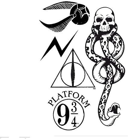 ABYstyle - Harry Potter - Tatuajes - 15x10 cm: Amazon.es: Belleza