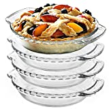 Anchor Hocking Oven Basics Glass 6 Inch Mini Pie Plate, Set of 4