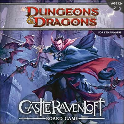 Dungeons And Dragons Castle Ravenloft Board Game from Wizards of the Coast