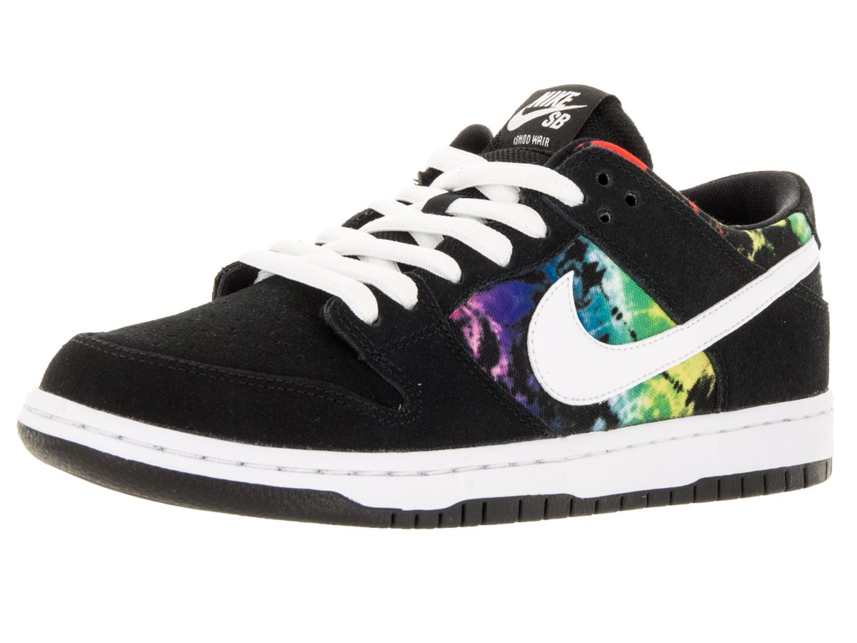 Nike Herren Dunk Low Pro Iw Turnschuhe  115|Black, White-multi-color