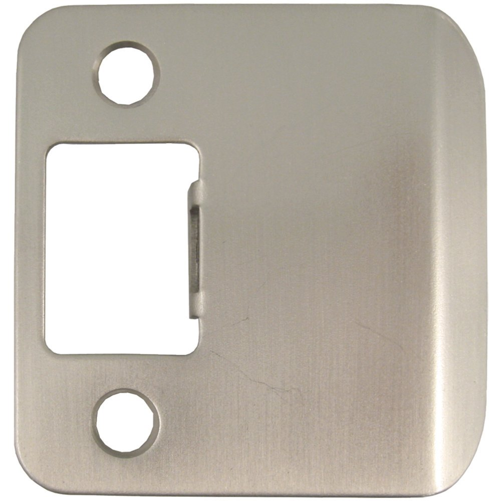 Stone Harbor Hardware 50125-5 Extended Lip Strike Plate with 2.5 Lip Antique Brass