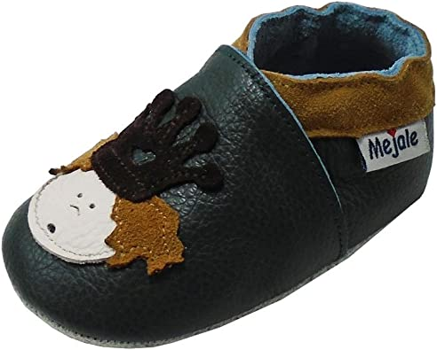 Sayoyo Baby Cute Elephant Soft Sole Leather Infant and Toddler Shoes