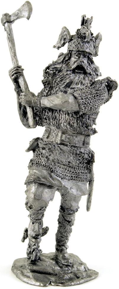 54mm Viking VR14 Scandinavian Viking with an axe X centyru 1:32 Soldier