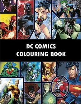 Amazon.com: DC Comics Colouring Book: Comic, Comic strip, super ...