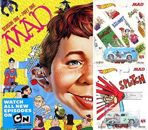 Crazy Pop Culture Fun Mad Magazine Season 1, Part 1 DVD + Collectible Hot Wheels