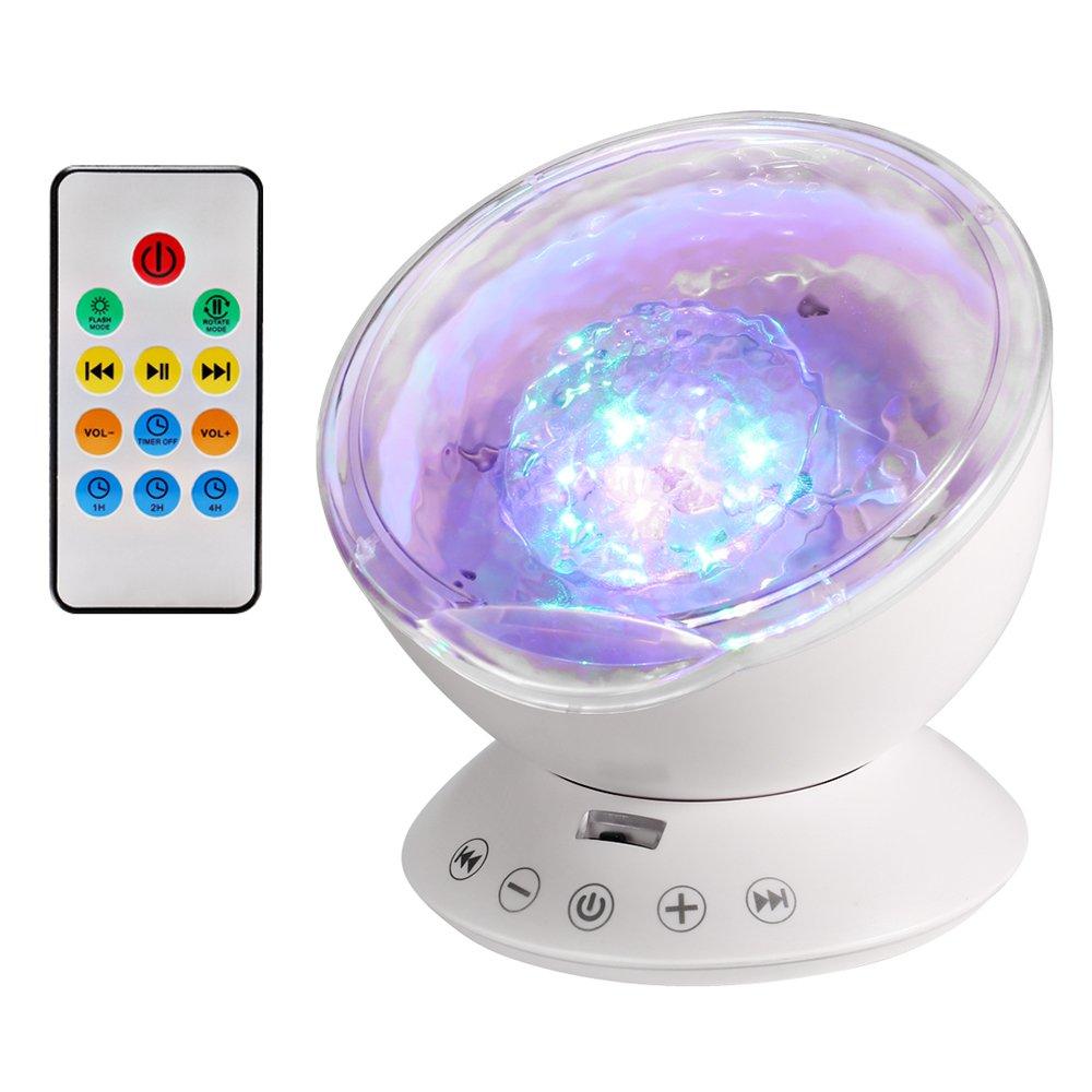 Lámpara Proyector Proyector de Luz Océano Nocturna para LED y Modos Luz