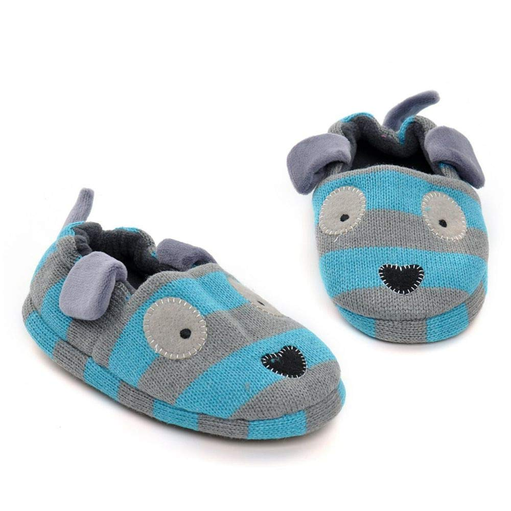 iFANS Kids Warm Cotton Cartoon Slipper Shoes Baby Shoes Indoor Toddler Loafers Shoes IF-S00047
