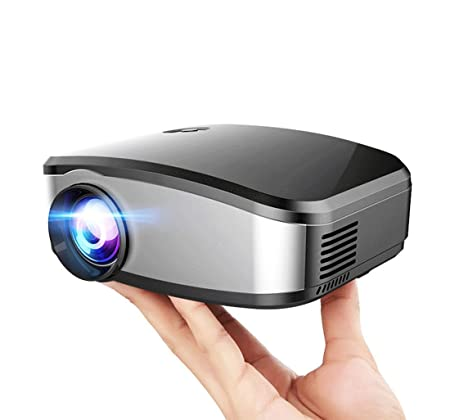 "4138a1f41 Mengshen Multimedia HD Mini LED Projektor 1080P Unterstützung 1200 Lumen  Portable Pocket Projectors Beamer 130"""