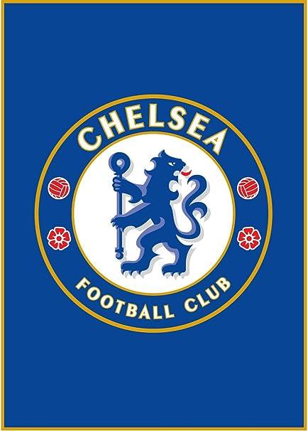 Chelsea Crest Football Sports Rug
