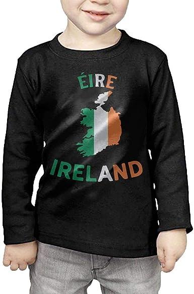 /Ã/‰IRE Map-1 ComfortSoft Long Sleeve Shirt CERTONGCXTS Little Girls Ireland