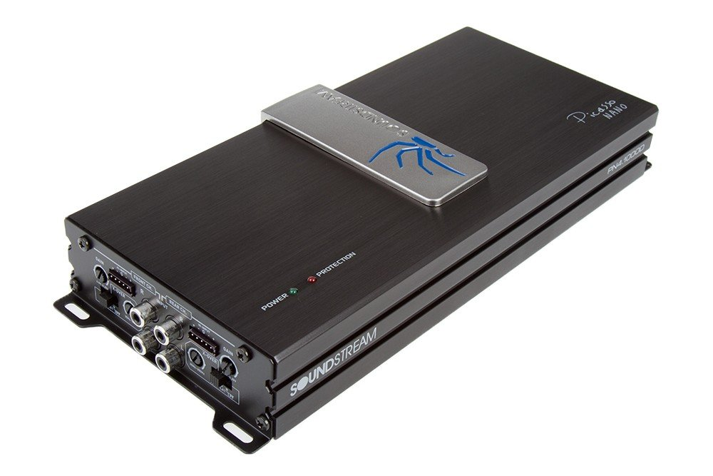 Soundstream PN4.1000D 1000W 4-Channel Picasso Nano Series Class D Amplifier