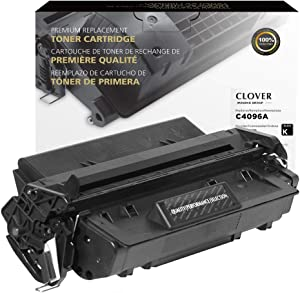 Clover Remanufactured Toner Cartridge for HP 96A C4096A | Black