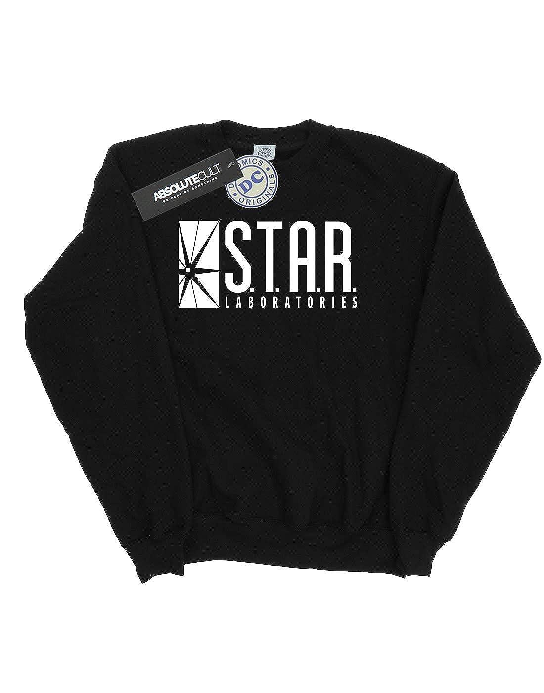 DC Comics Girls The Flash Star Labs Sweatshirt