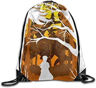 Liumiang Sacs à Dos,Sacs de Sport,Sacs à Cordon, Eco-Friendly Pirnt Love Our Home Large Exotic Drawstring Sport Backpack Sack Bag Sackpack