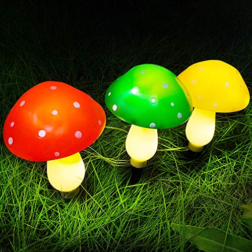 Outdoor Solar Mushroom Lights in US - 2