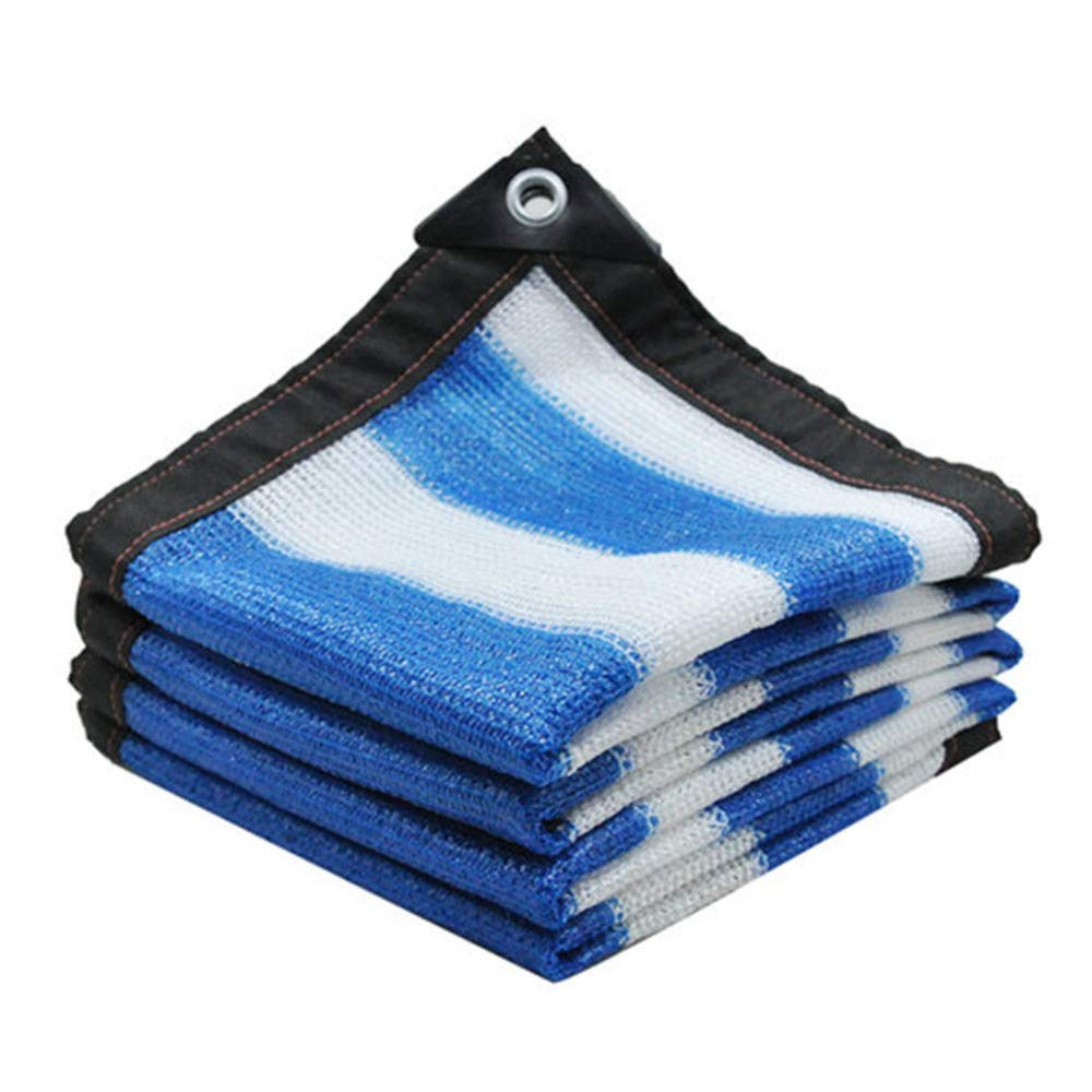 Sunshading Net Rainscreen Thicken Thicken Thicken Verschlüsselung Wärmeisolierung Anti-UV-Pergola Cover Blaume Schutznetz Polyethylen, 23 Größen,5x8m B07GZB61J5 Krbe & Koffer Am wirtschaftlichsten d4e4b4